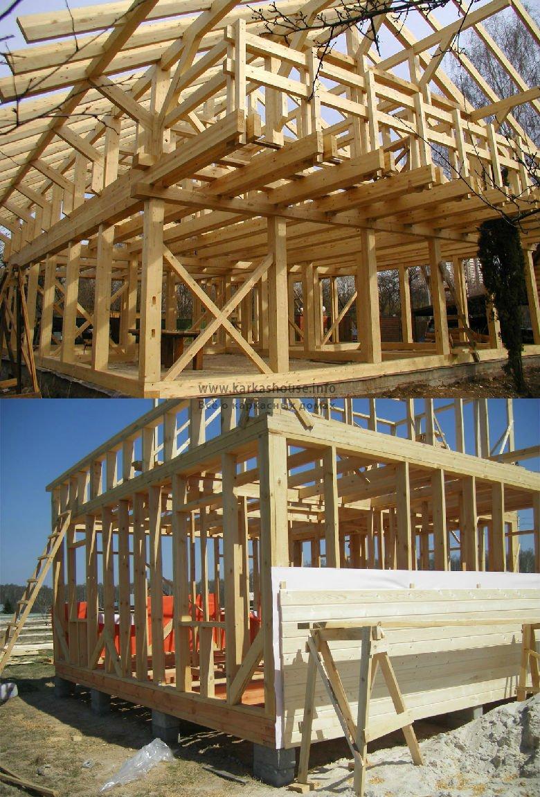 Достоинства и недостатки каркасной технология строительства дома