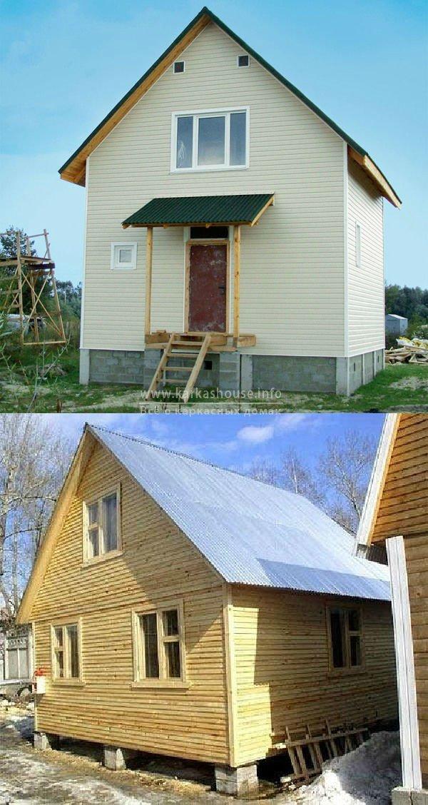 строим каркасный дом своими руками, фото
