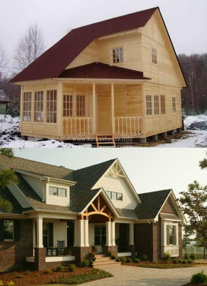 цена строительства каркасных домов