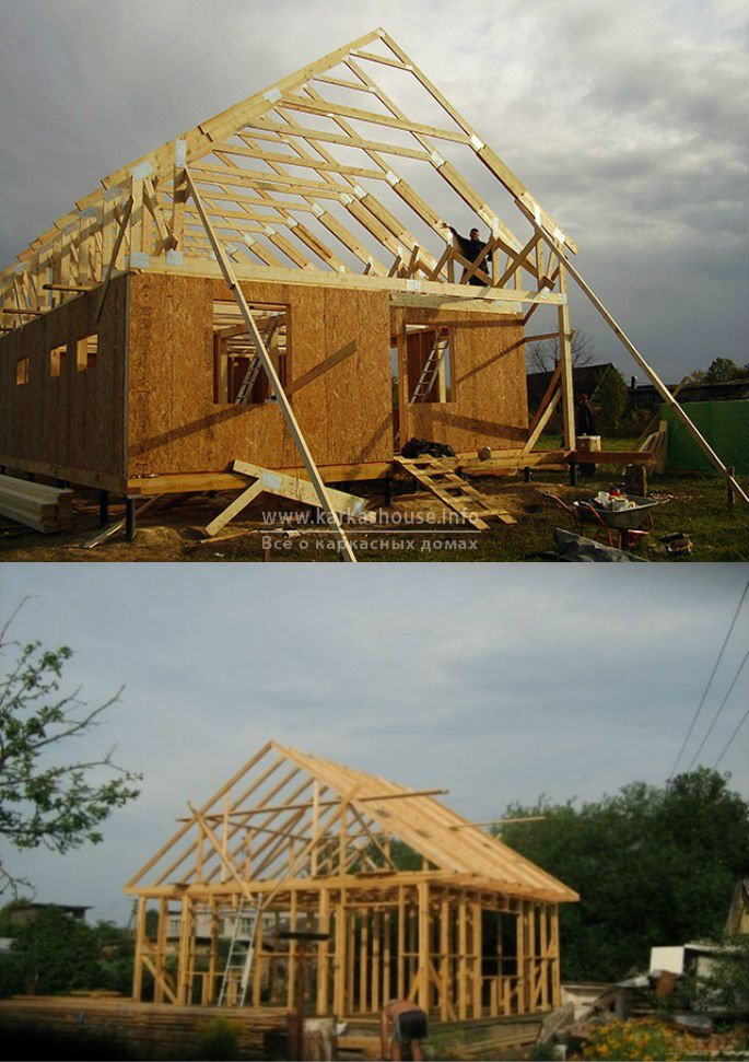 цена проекта строительства каркасного дома