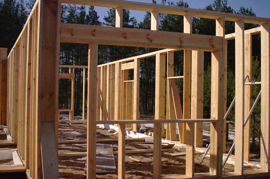 Как изготовить каркасный дом 40