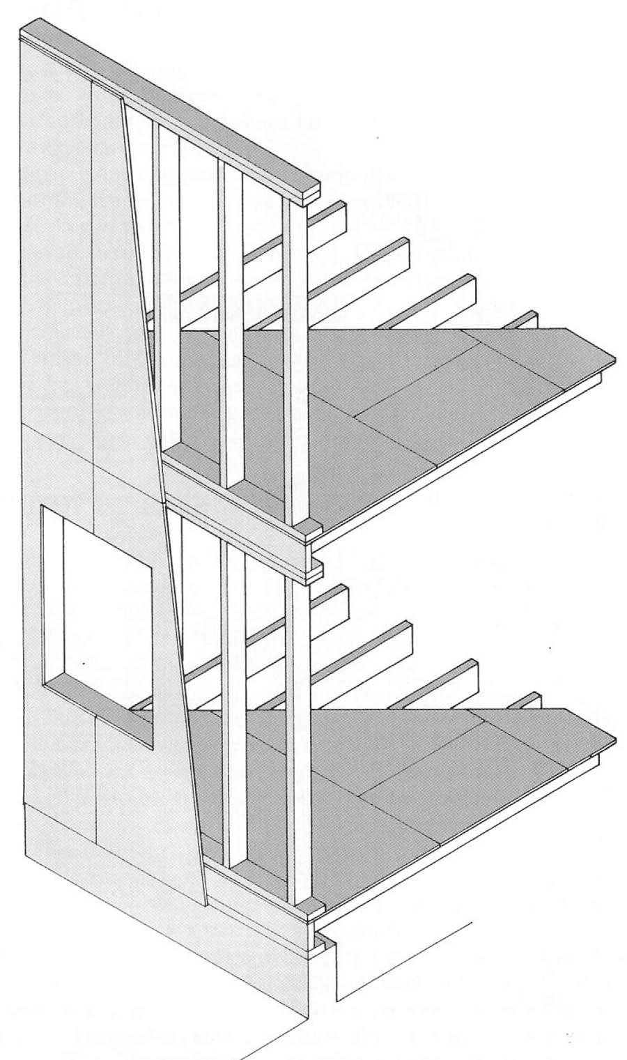 каркасная конструкция по системе Платформа