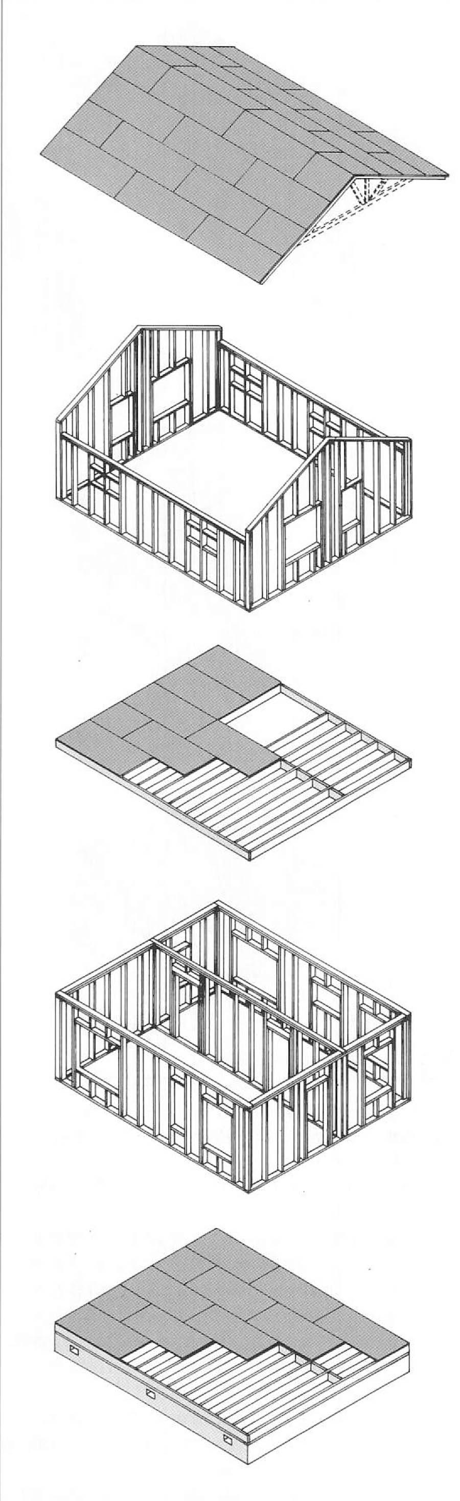 Применение системы «Платформа» в каркасном строительстве