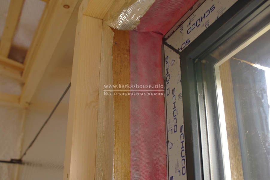 Как вставить пластиковые окна в каркасном доме своими руками 43