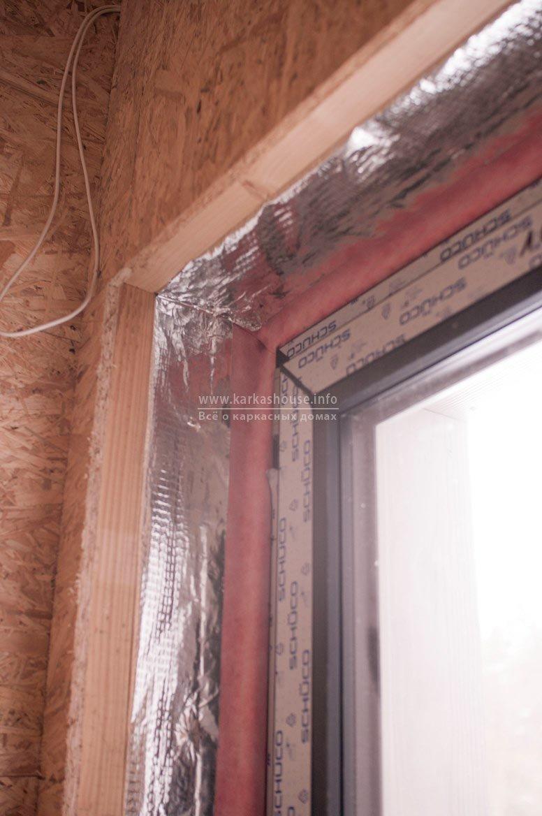 пароизоляция примыкания окна