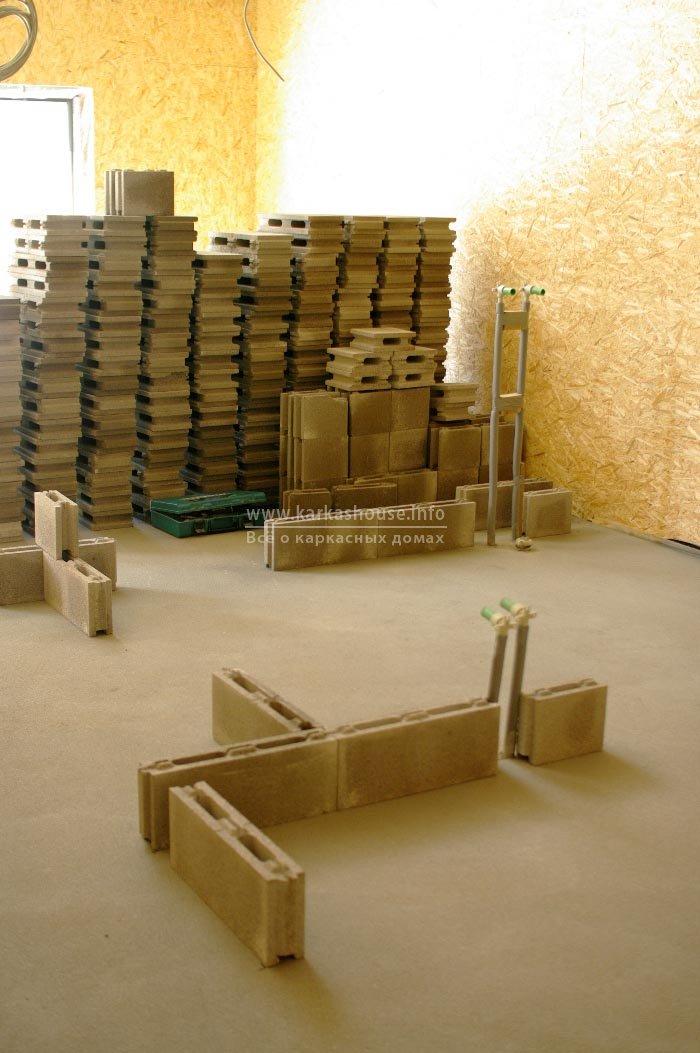 Сортировка пазогребневых блоков