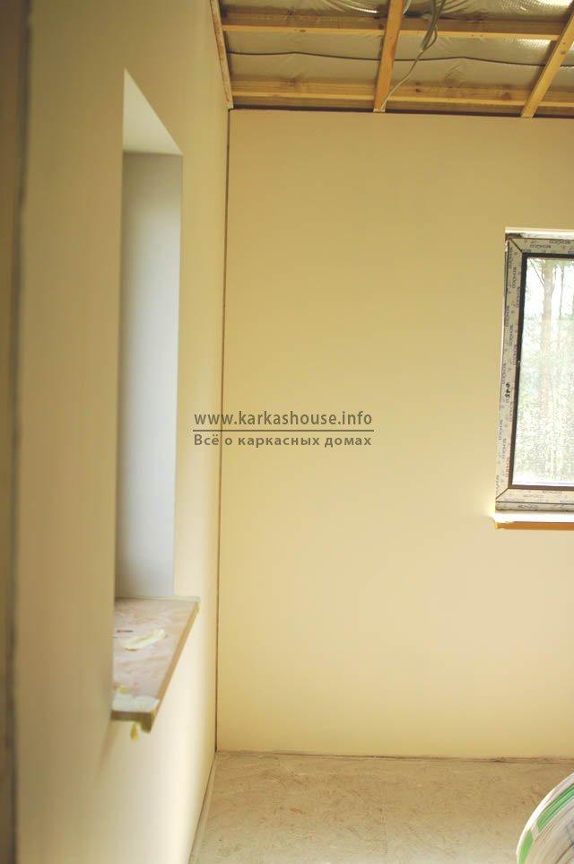 шпаклевка стен из гипсокартона