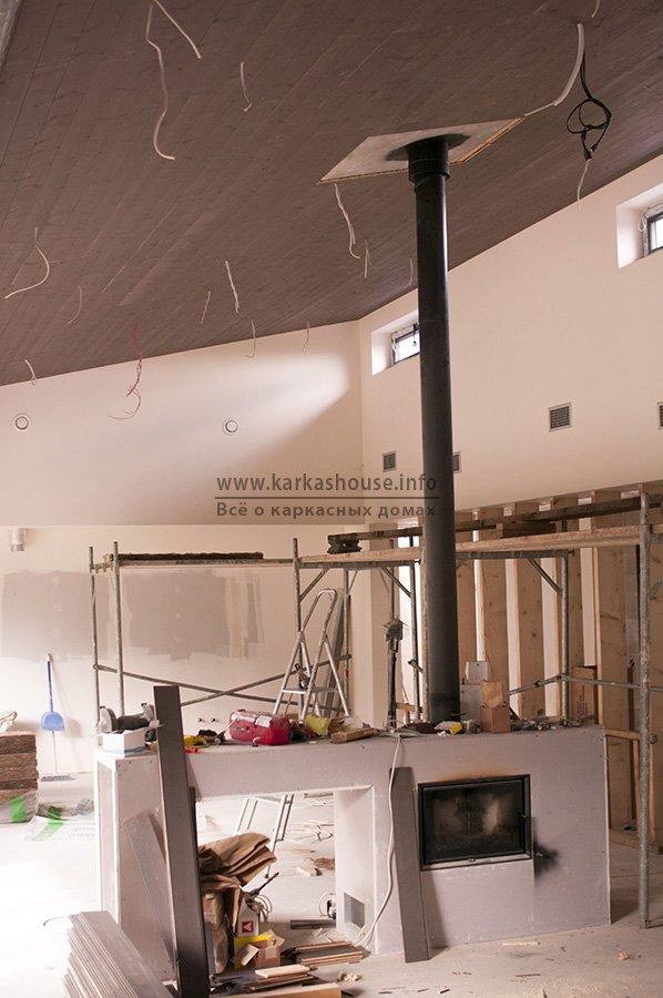 отделка дома деревянными панелями