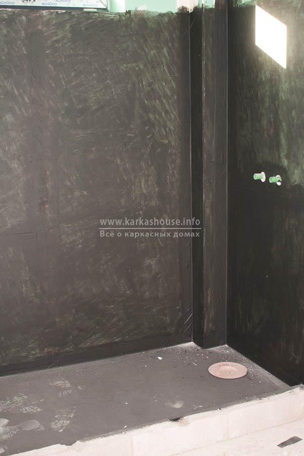гидроизоляция стен и пола ванной