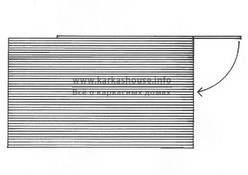 Разламывание плиты по надрезу 2