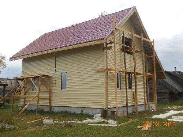 Строительство каркасного дома поэтапно своими руками