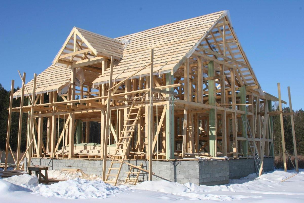строительство канадских каркасных домов
