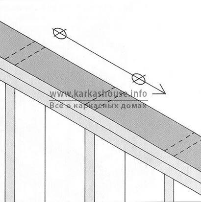 монтаж балок межэтажного перекрытия