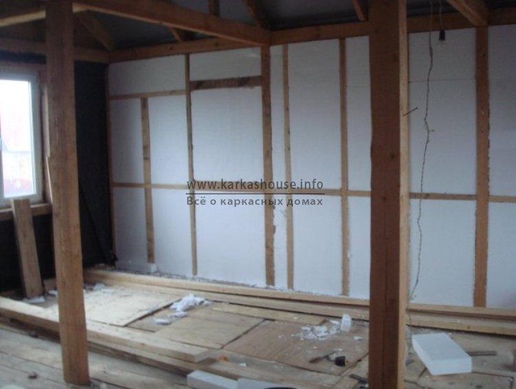 Строительство каркасного дома недорого