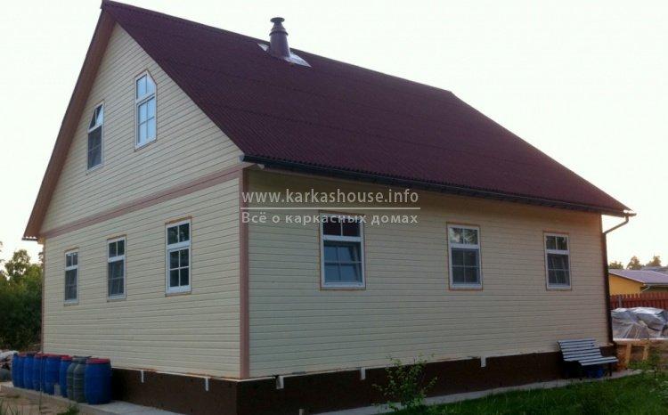 Построить каркасный дом недорого
