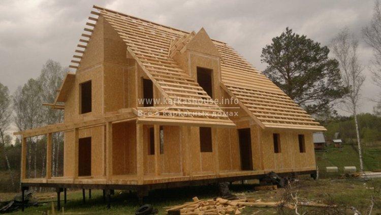 Строим каркасные дома недорого