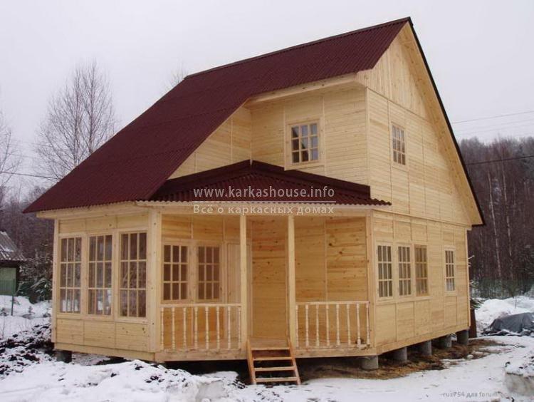Каркасные дома недорого эконом фото