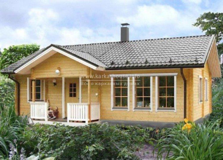 Финский каркасный дом для постоянного проживания