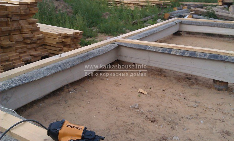 строительство каркасного дома для постоянного проживания фото