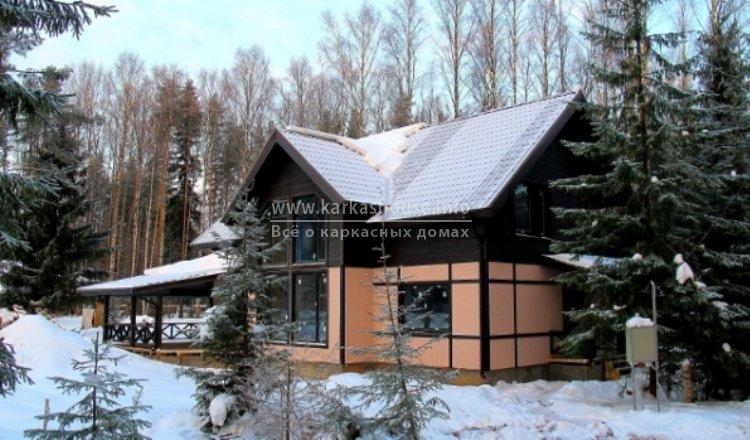 каркасный дом под ключ для постоянного проживания цена