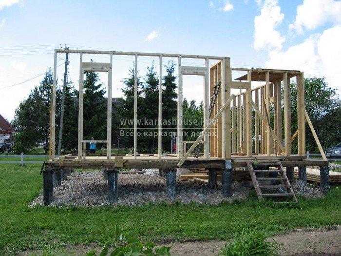 Как построить красивый дом своими руками