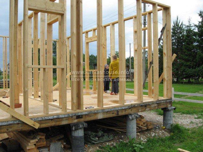 Построить деревянный дом своими руками