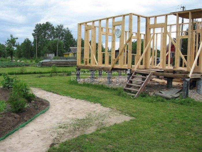 Построить дом из дерева своими руками