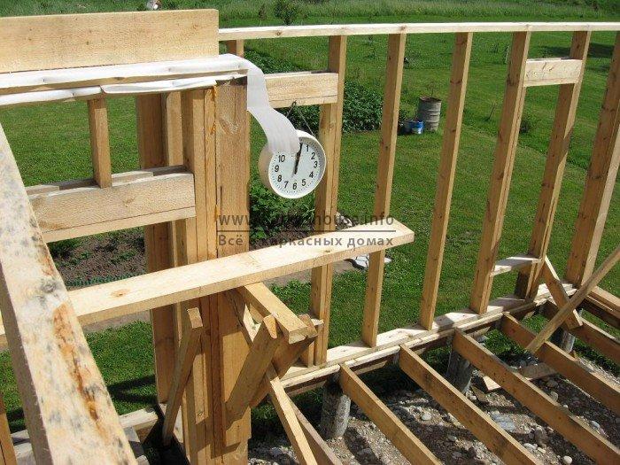 Построить дом каркасный своими руками фото
