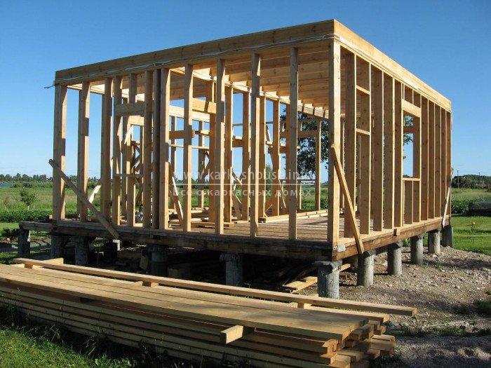 Быстро построить дом своими руками