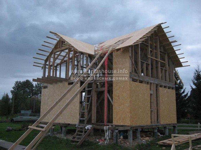 Как быстро построить дом своими руками фото