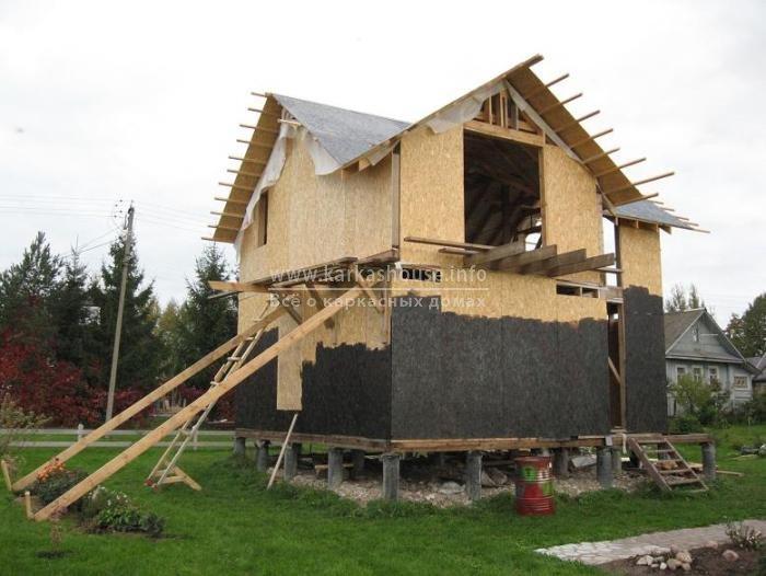 Как построить дом своими руками картинка