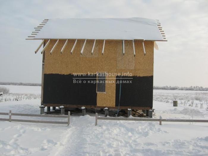 Как построить каркасные дома своими руками