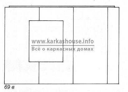 Процесс обшивки ветрозащитными плитами изоплат