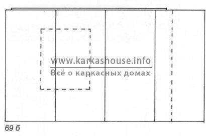 Процесс обшивки плитами изоплат