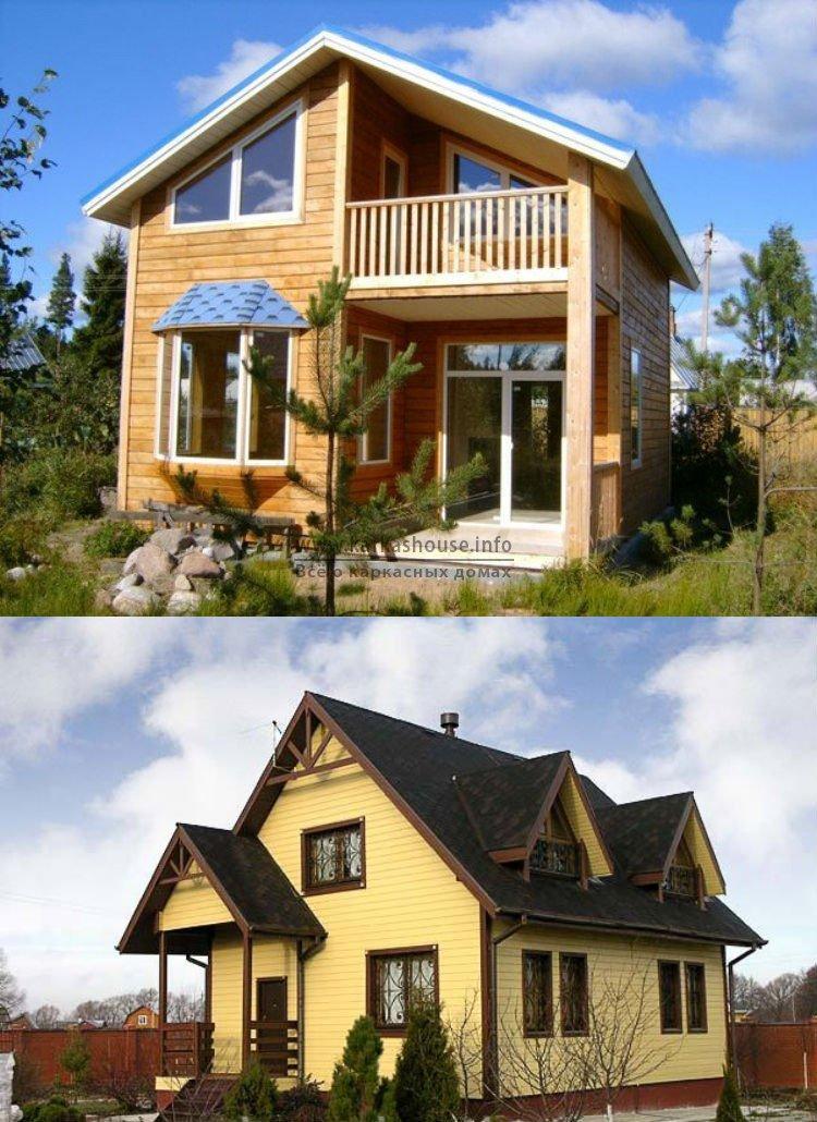Каркасные дома под ключ недорого цены фото