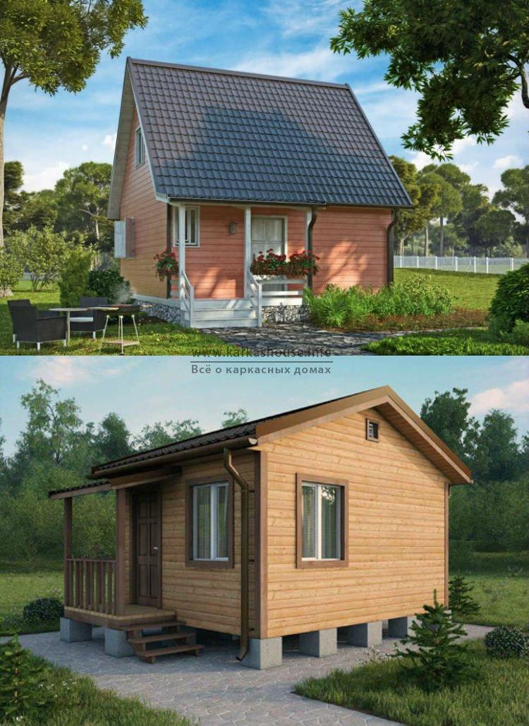 Каркасные дачные дома под ключ недорого цена