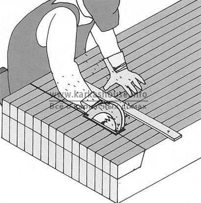 Установка деревянных балок