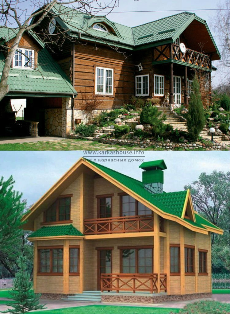 Строительство каркасно щитовых домов недорого