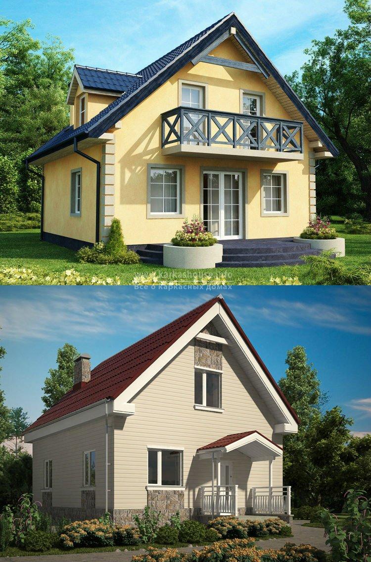 Каркасные дома недорого под ключ цены