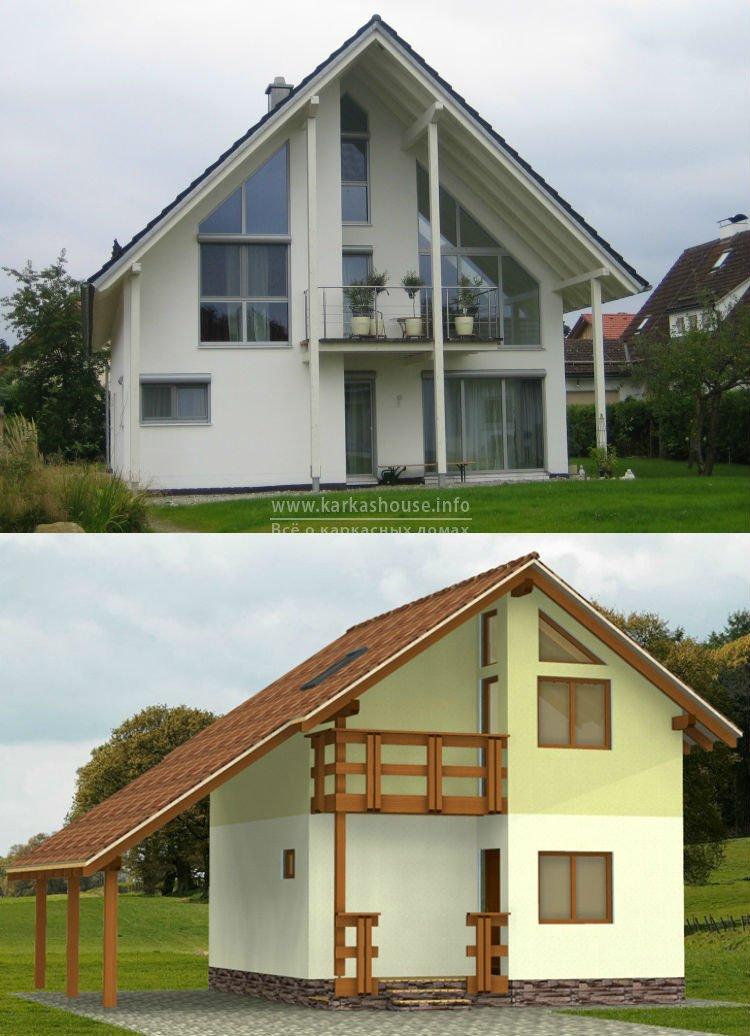 Строительство каркасных домов под ключ недорого