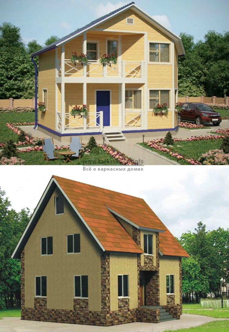Построить каркасный дом недорого под ключ