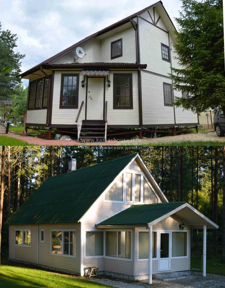Каркасно щитовые дома под ключ недорого цены