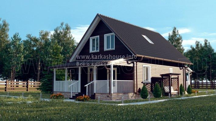 Реальная цена строительства каркасных домов
