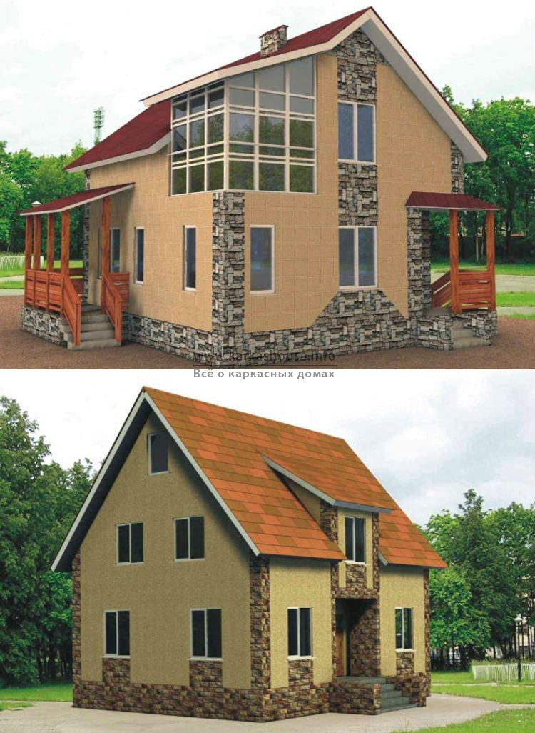 Строительство каркасного дома под ключ цена