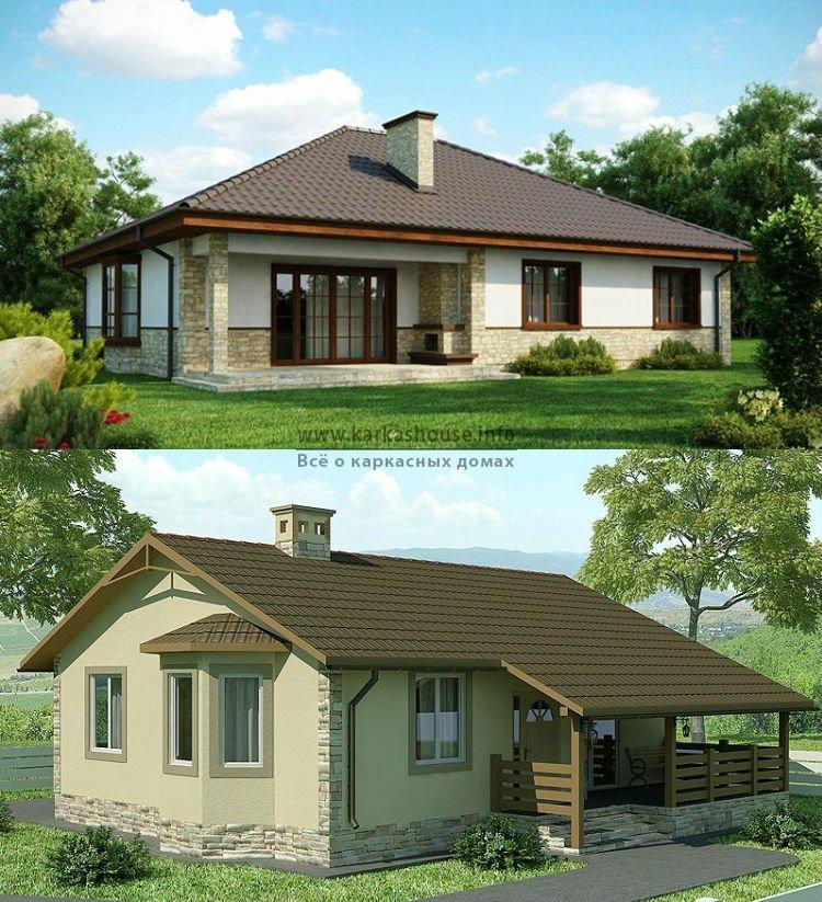 Строительство одноэтажных каркасных домов цены
