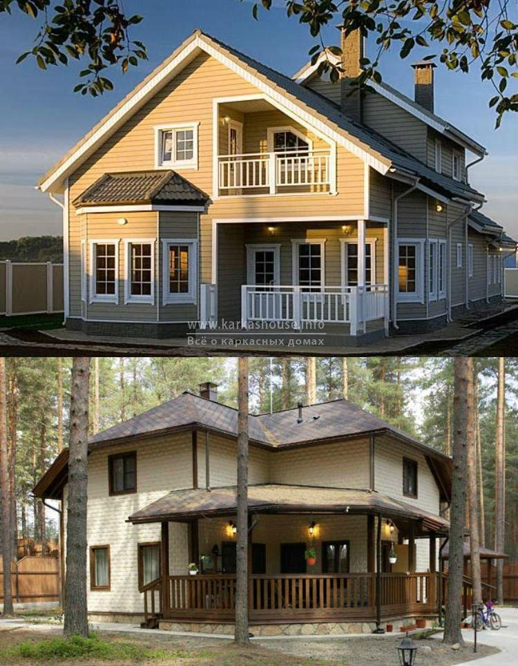 Строительство каркасных домов проекты цены