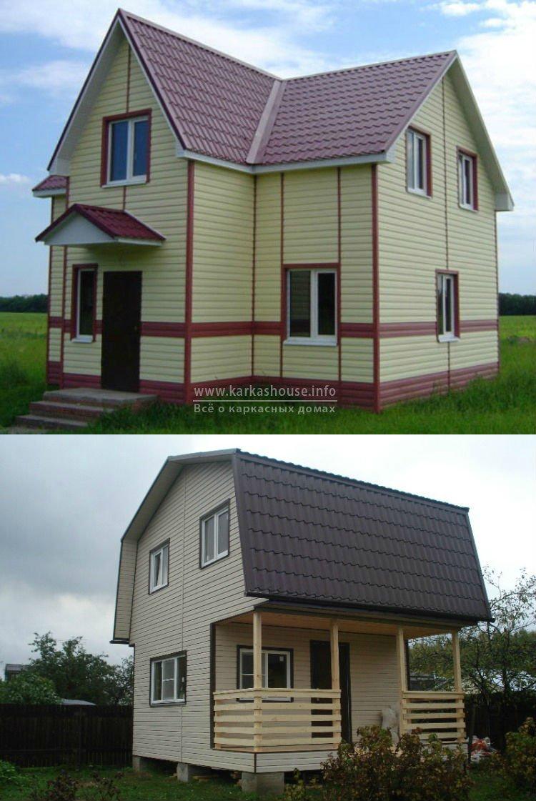 Строительство каркасно щитовых домов цены