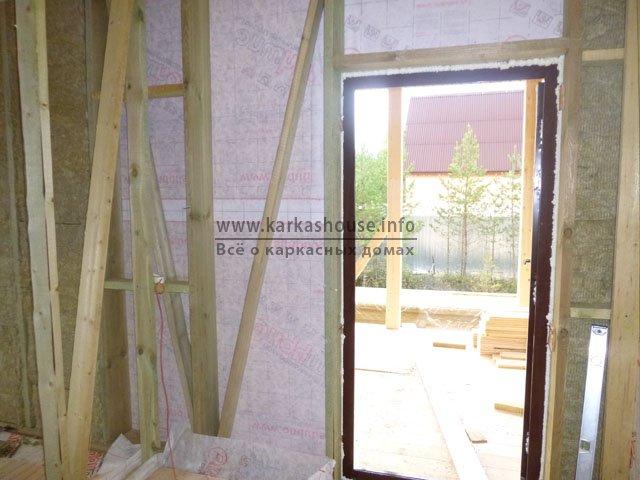 Строительство одноэтажных каркасно-щитовых домов