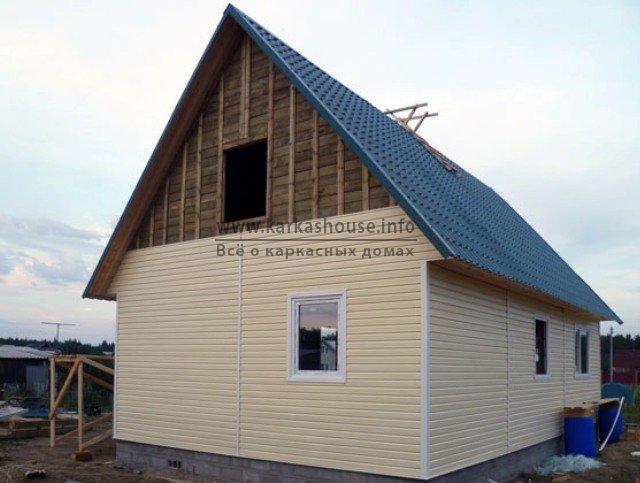 Купить одноэтажный каркасный дом под ключ