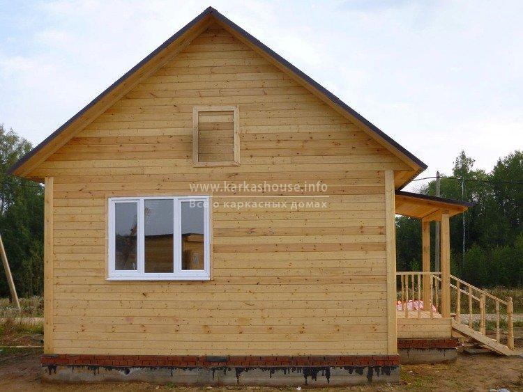 Каркасный дом 6 на 6 одноэтажный фото
